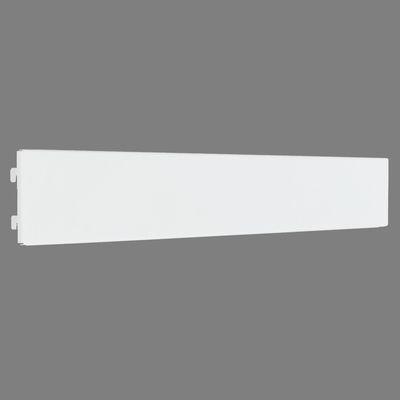 Плинтус для стеллажа, серия 25, L66,5см, цвет белый