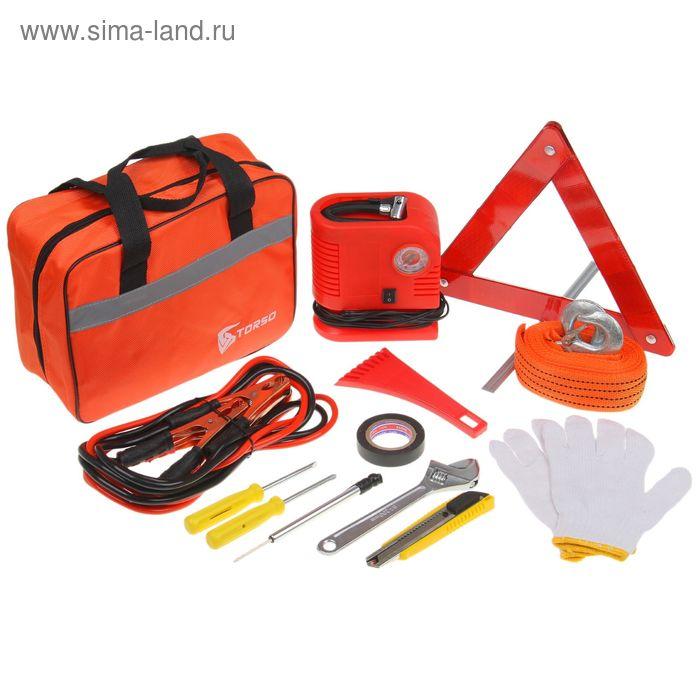 Набор автомобилиста TK-130, 13 предметов, сумка