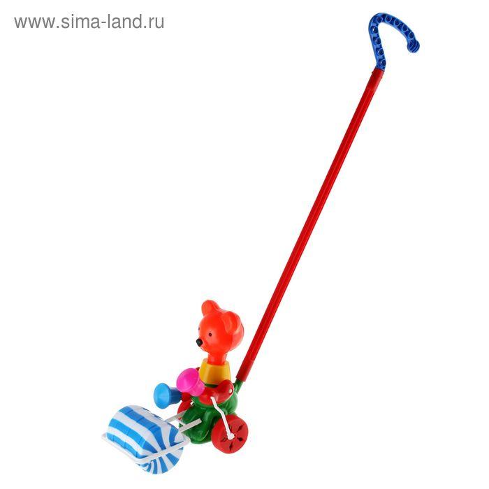 """Каталка """"Мишка с катком"""", МИКС"""