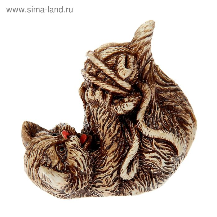"""Сувенир """"Кошка с клубком"""""""