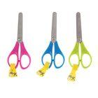 Ножницы детские для левшей, 13 см, Essentials симметричные, в дисплей, МИКС