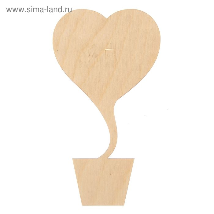 """Панно для декора """"Топиарий-сердце"""""""