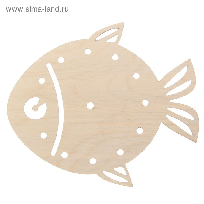 """Основа для часов """"Рыбка"""", d=25см"""