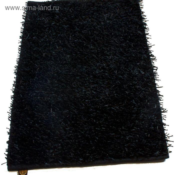 Коврик Langflor-Teppich in Metallic-Optik, размер 50х70 см, цвет антрацит