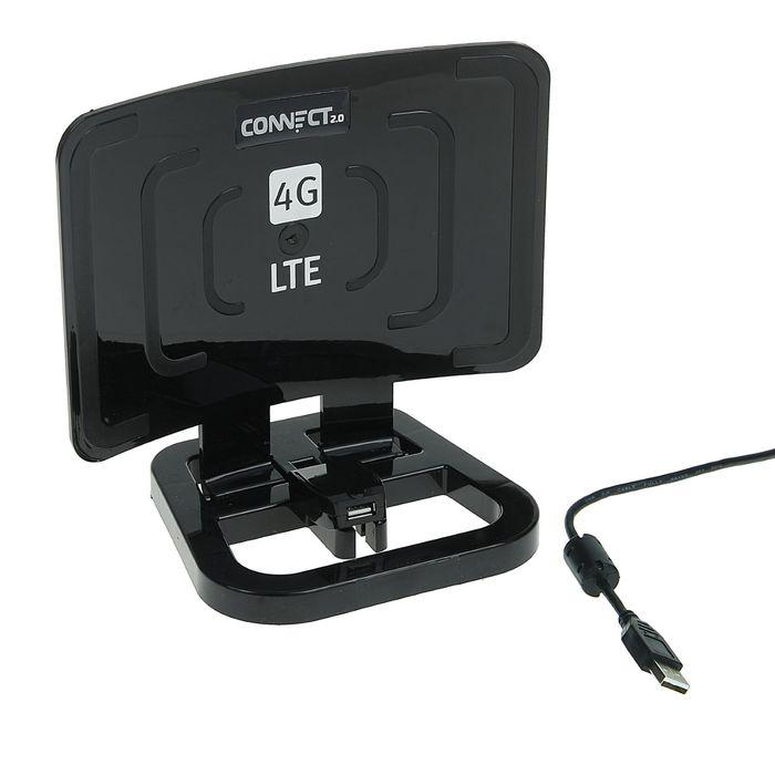 Антенна - усилитель интернет сигнала Connect 2.0 black edition, 2G/3G/4G
