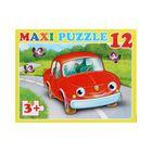 Макси-пазл «Машинка», 12 элементов