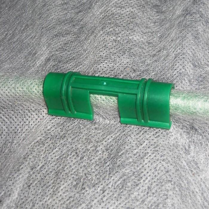 Зажим для крепления для укрывного материала, d = 10 мм, набор 12 шт.