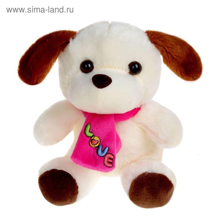 Мягкая игрушка «Звери с шарфом и вышивкой», цвета МИКС