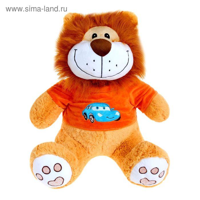 Мягкая игрушка «Лев № 1» в кофте с вышивкой, цвета МИКС