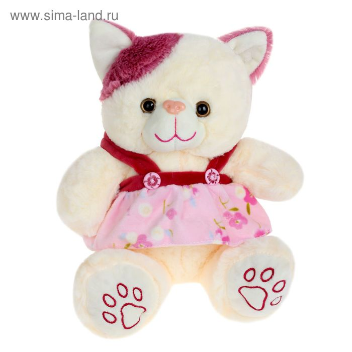 Мягкая игрушка «Кошка» в платье, цвета МИКС