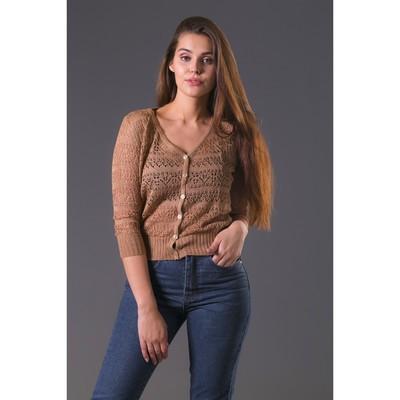 Жакет женский 3404, цвет мокко, р-р 44, рост 168-170