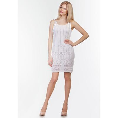 Сарафан женский, цвет белый, рост 168-170 см, размер 50 (арт. 2090 С+)
