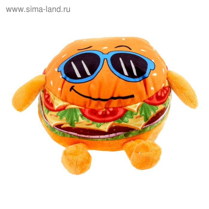Мягкая игрушка «Крутой бургер»