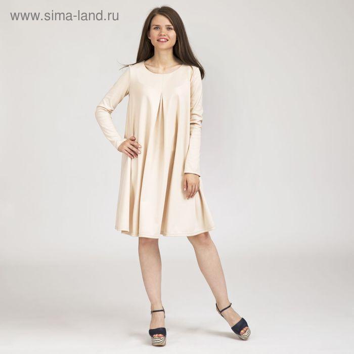 Платье женское Y0243-0048, цвет молочный, размер46/170