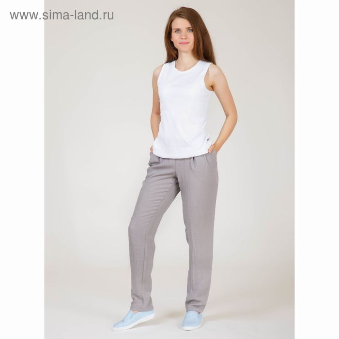 Брюки женские Y6831-0132, цвет серый, размер42/170