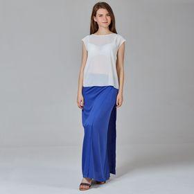 Юбка женская Y1337-0142, цвет синий, размер48/170