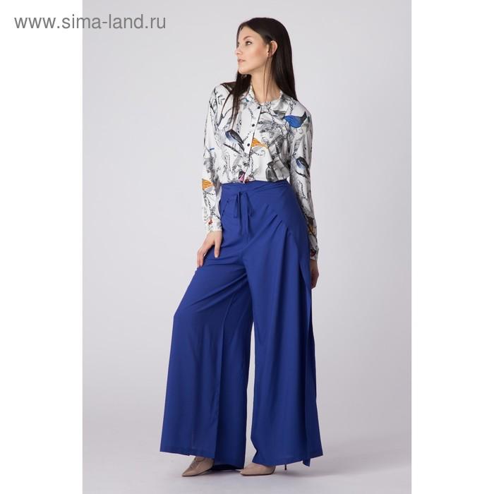 Брюки женские Y1339-0121, цвет синий, размер48/170
