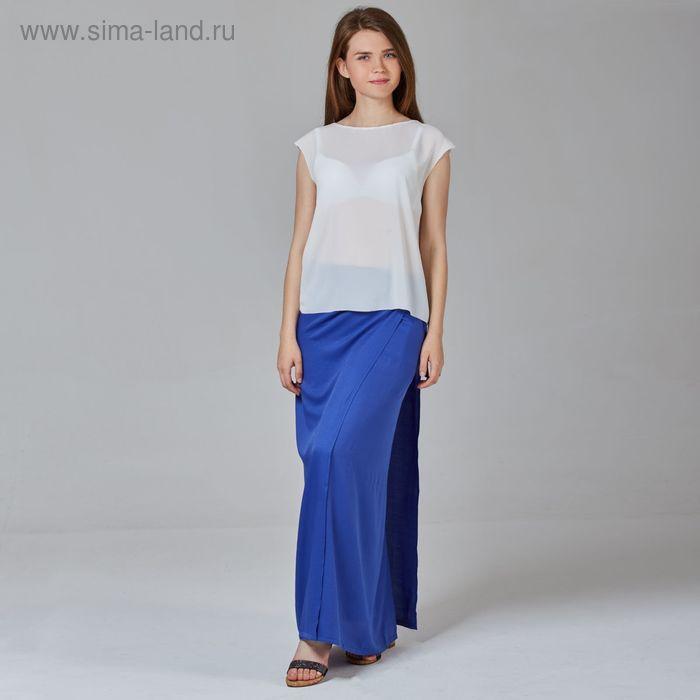 Юбка женская, цвет синий, размер 50, рост 170 см (арт. Y1337-0142 С+)