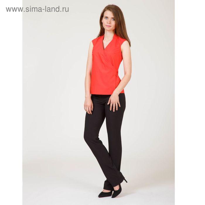 Блуза женская, цвет красный, размер 52, рост 170 см (арт. Y6610-0099 С+ new)
