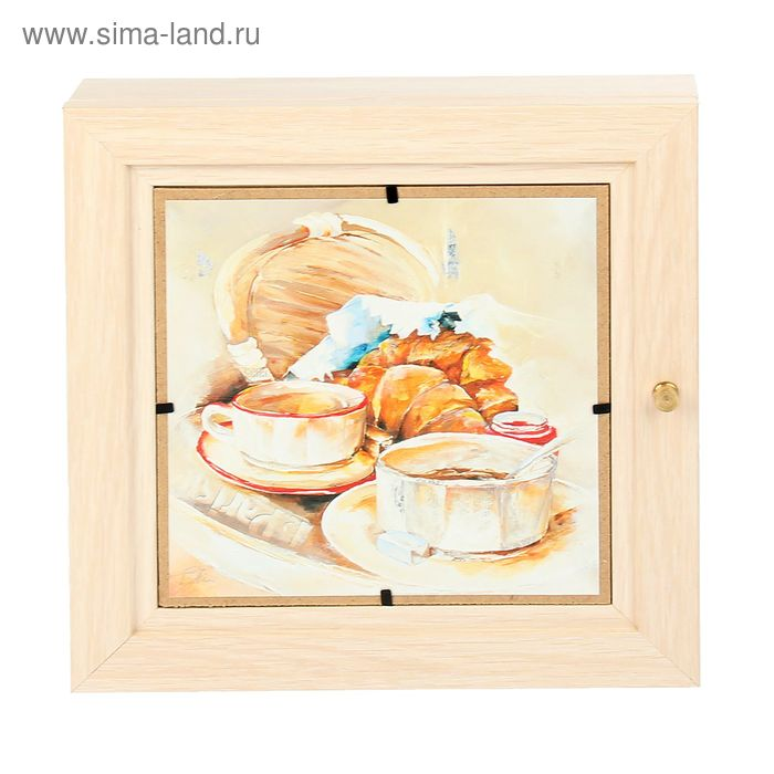 "Ключница ""Французский завтрак"""