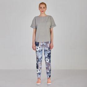 Блуза женская Y1214-0088 new, цвет серый, размер42/170 Ош