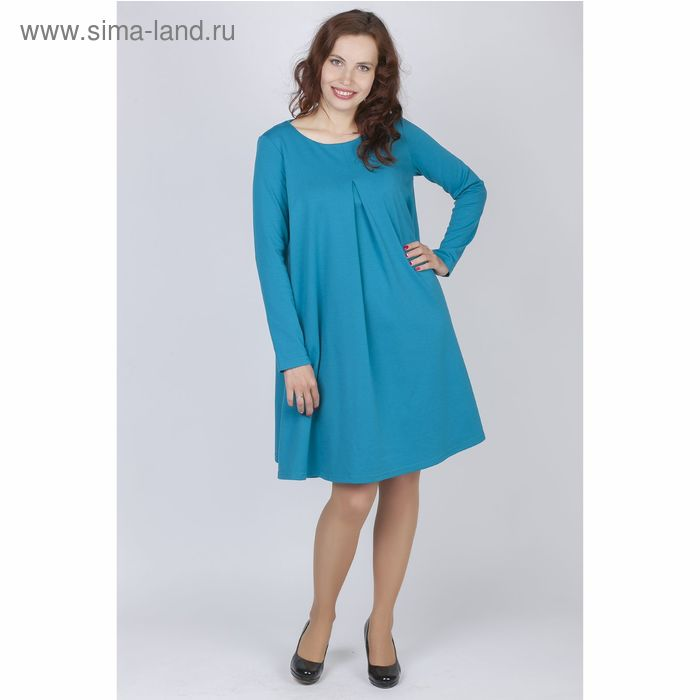 Платье женское Y0212-0048, цвет бирюза, размер42/170