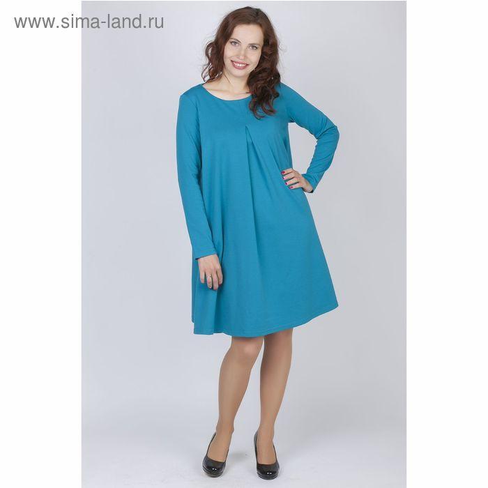 Платье женское Y0212-0048, цвет бирюза, размер46/170