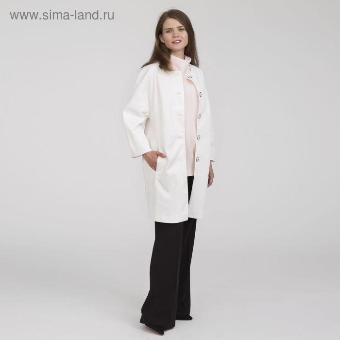 Жакет женский Y9825-0089, цвет молочный, размер44/170