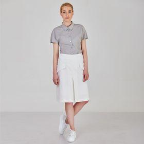Блуза женская Y1213-0063new, цвет серый, размер44/170