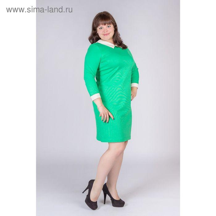 Платье женское, цвет зелёный, размер 50, рост 170 см (арт. Y0225-0111 С+ new)