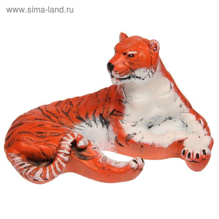 """Сувенир """"Отдыхающий тигр"""""""