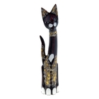 Сувенир Кошка хвост трубой 60 см 3BS01-19-07C дерево албезия
