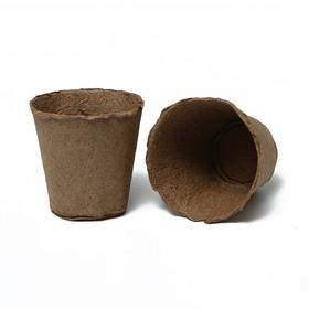 Торфяной горшок, 500 мл, 11 × 11 см Ош