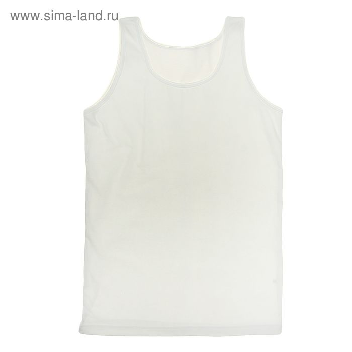 """Майка для девочки """"Белая"""", рост 140 см (72), цвет белый ДНМ665001"""