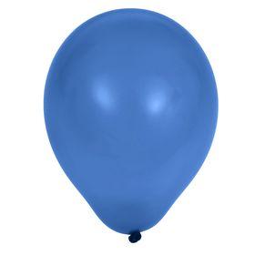 """Шар латексный 5"""", пастель, набор 100 шт., цвет синий"""