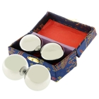 Поющие шары Баодинга (шары здоровья) (набор 2 шт) d=3,5 см, металлик, цвета МИКС