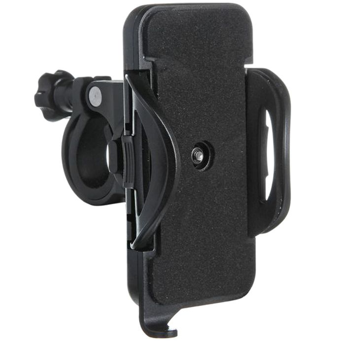 Держатель на руль для смартфона, Iphone, Samsung, GPS (размеры телефона: 54х111х12 мм)
