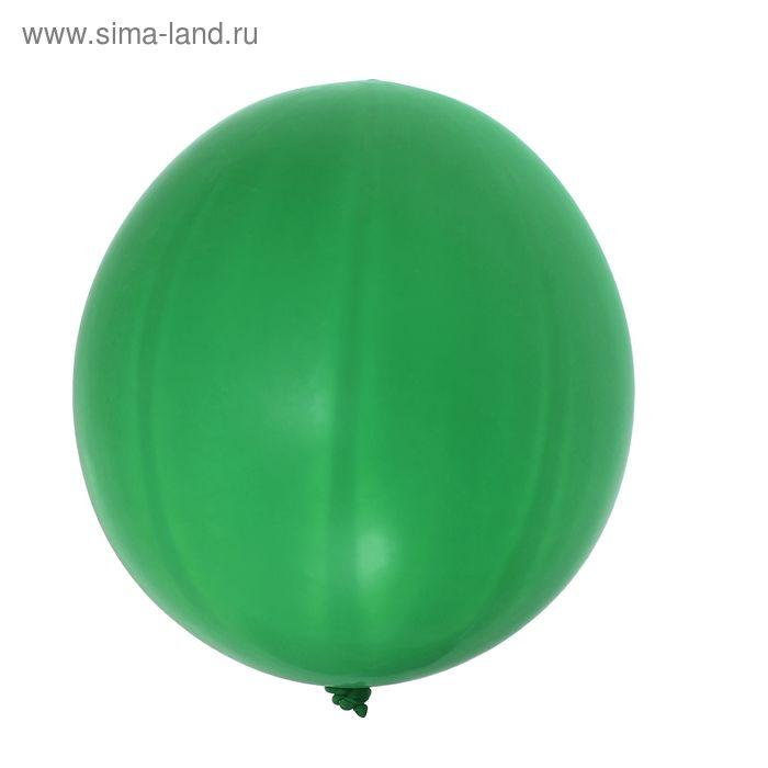 """Шар латексный 27"""", пастель, набор 10 шт., цвет зелёный"""