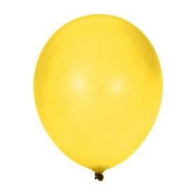"""Шар латексный 10"""", пастель, набор 100 шт., цвет жёлтый"""