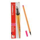 Ручка капиллярная Stabilo point 88 0.4 мм, ченила розовые, 88/56