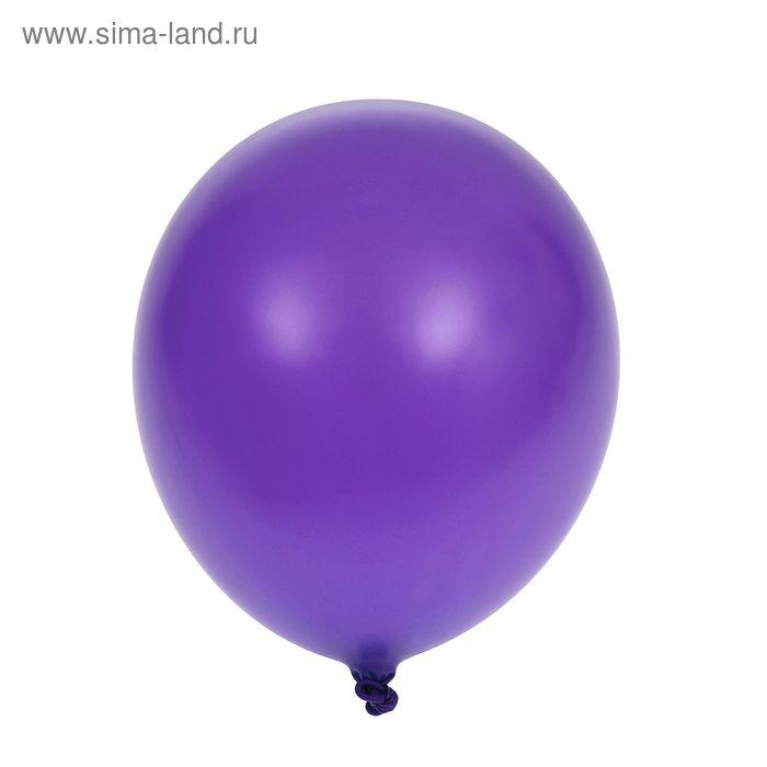 "Шар латексный 10""/49 Пастель Lavender 100 шт. G"