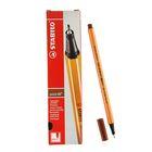 Ручка капиллярная Stabilo point 88 0.4 мм, чернила коричневые, 88/45