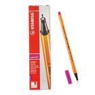 Ручка капиллярная Stabilo point 88 0.4 мм, ченила сиреневые, 88/58