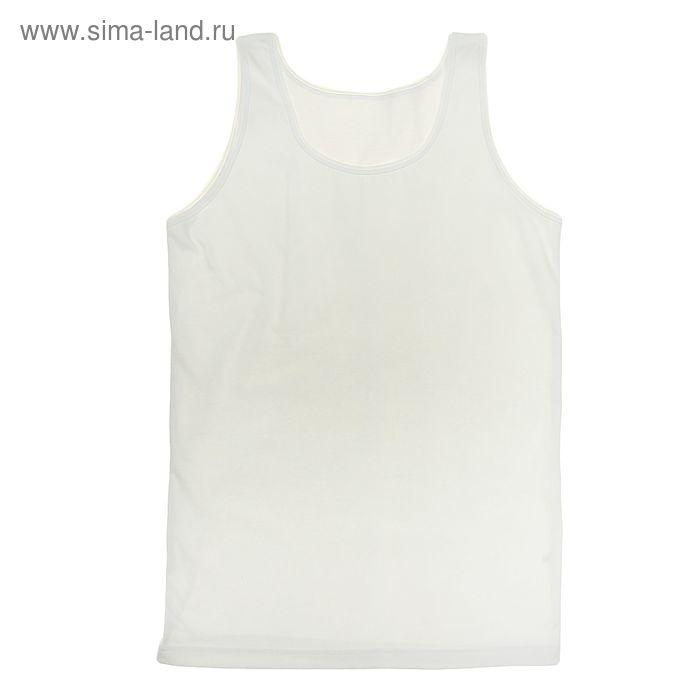 """Майка для девочки """"Белая"""", рост 134 см (68), цвет белый ДНМ665001"""