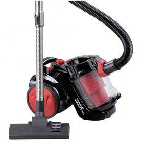 Пылесос Sinbo SVC 3459, 2000 Вт, всасывание 350 Вт, 3 л, красно-чёрный