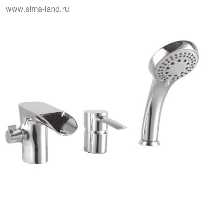 Смеситель для ванны встраиваемый Lemark Atlantiss LM3245C