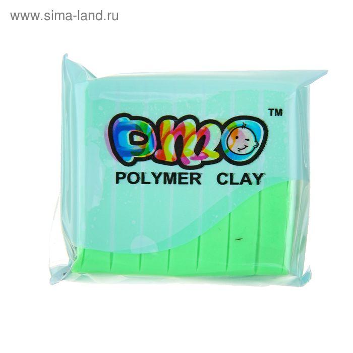 """Полимерная глина 50гр """"PMO"""" Люминесцентный(светится в темноте) Мятный SH-104"""
