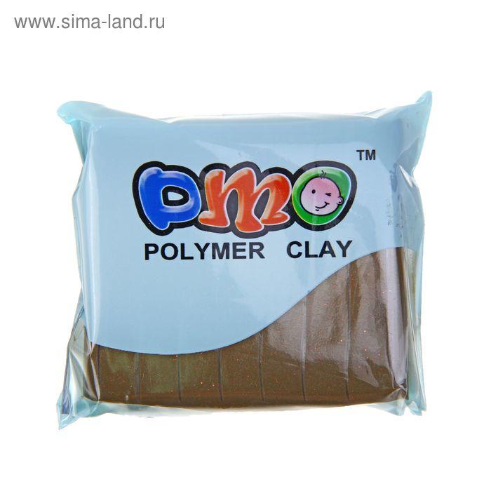 "Полимерная глина 50гр ""PMO"" Мет Золото SH-86"