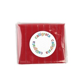 Полимерная глина Calligrata SH-59, 50 г, красная