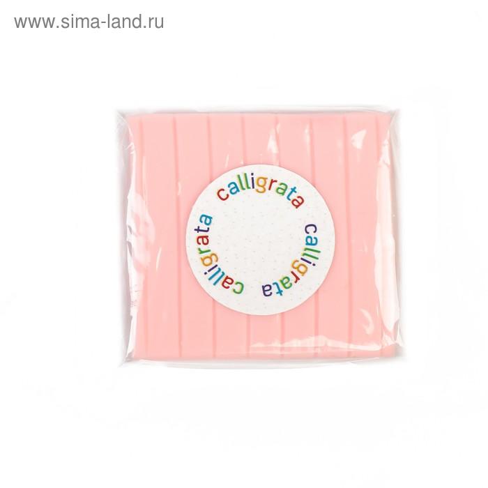 """Полимерная глина 50гр """"Calligrata"""" Бледно-розовый SH-05"""
